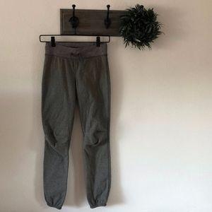 Lululemon Ivivva Gray Lined Sweatpants 10